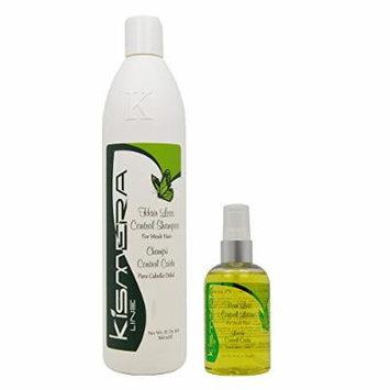 Kismera Line Hair Loss Control Shampoo 16oz & Lotion 4oz