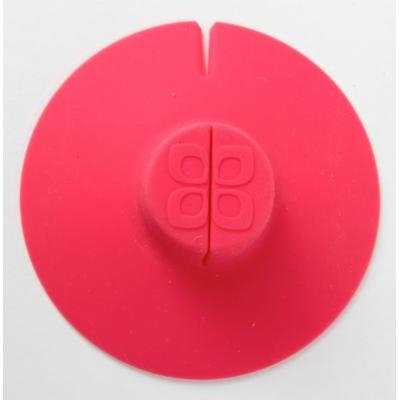 Epoca Silicone Tea Bag Buddy and Cup Cover Lid, 2-Pack, Colors Vary