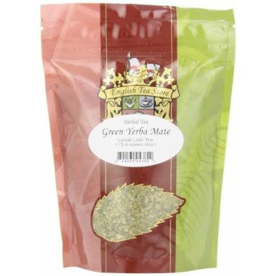 English Tea Store Loose Leaf, Green Yerba Mate Herbal Tea, 4 Ounce