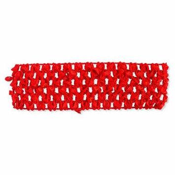 Red Crochet Headband