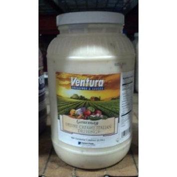 Ventura Gourmay: Deluxe Creamy Italian Dressing 1 Gallon (4 Pack)