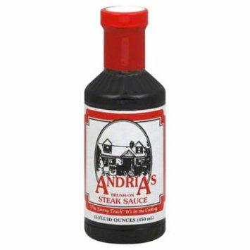 Andrias Steak Sauce, Brush-On 15 Oz. - Case of 12