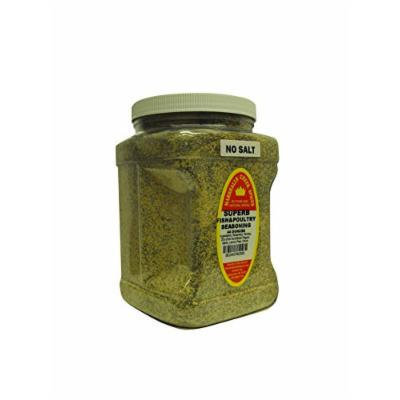 Marshalls Creek Spices Family Size Superb Fish and Poultry No Salt Seasoning, 44 Ounce