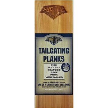 Chef Locke Purdue University TailGating BBQ Plank