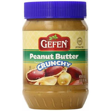 Gefen Peanut Butter, Chunky, 18 Ounce