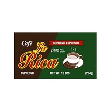 Cafe La Rica Cuban Espresso Ground Coffee 284 g