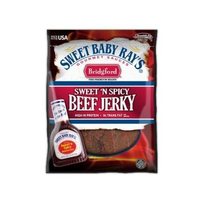 Bridgford Sweet Baby Ray's Sweet 'N Spicy Beef Jerky, 6 Pack