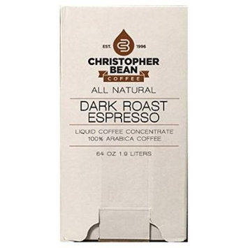 Dark Roast Espresso Cold Brew Or Hot Liquid Coffee Concentrate 64 Ounce Bag In Box With Shcolle Connector