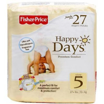 Fisher Price Diapers - Jumbo Pack - Size 5 - 27 ct