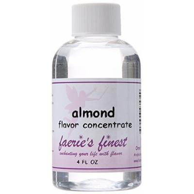 Faeries Finest Flavor Drops, Almond, 4.0 Ounce