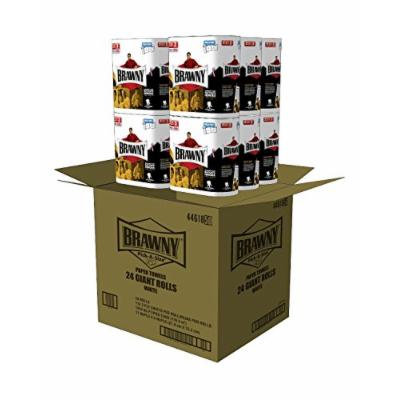 Brawny Super Size Value Package Giant Roll Paper Towel, White, 48 Giant Rolls