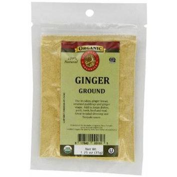 Aromatica Organics Ginger Ground, 1.25-Ounce