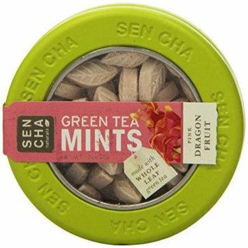 SENCHA NATURALS Green Tea Mints, Pink Dragonfruit, 6 Count