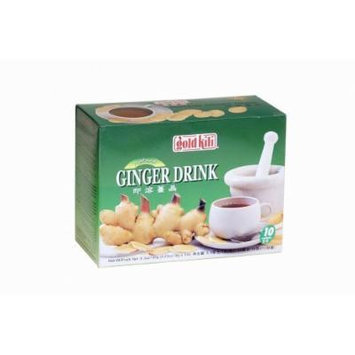 3-pack of Gold Kili Instant Ginger Drink with Honey,6.3oz,180g Each Box, Free Recipe Book Inside Box.
