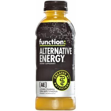 Function: Alternative Energy Drink, Citrus Yuzu, 16.9 Ounce Bottle (Pack of 12)