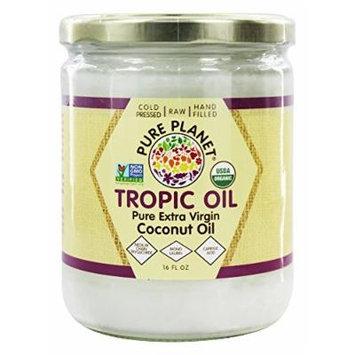 Pure Planet - Tropic Oil Raw Organic Coconut Oil - 16 oz