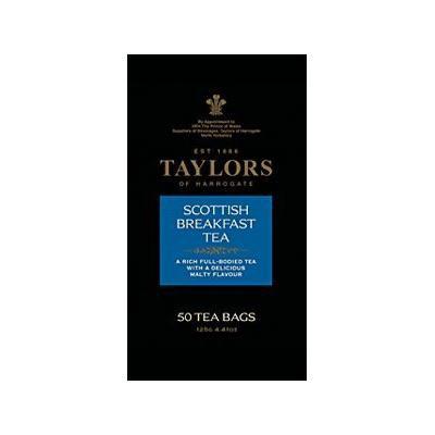 Taylors Scottish Breakfast Tea (50 Tea Bags)