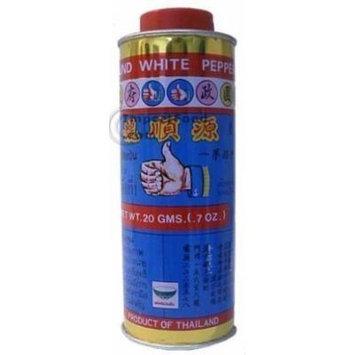 Nguan Soon Thai White Pepper Powder (Prik Thai) - 20 gram can