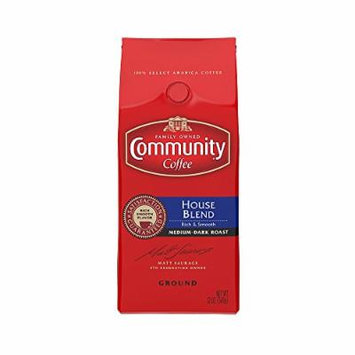 Community Coffee Premium Ground Coffee, House Blend, 12 Ounce (Pack of 3)