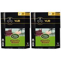 32 Count - Green Mountain Fair Trade Organic Sumatran Reserve Coffee Vue Cup For Keurig Vue Brewers