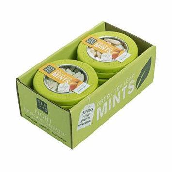 SENCHA NATURALS Green Tea Mints, Tropical Mango, 6 Count