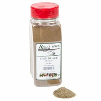 Regal Herbs, Spices, Seasoning 8 ounce (Fine Ground Black Pepper)
