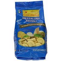 Corabella Four Cheese Mezzaluna Ravioli Pasta, Con Cuatro Quesos,8 Ounce (Pack of 12)