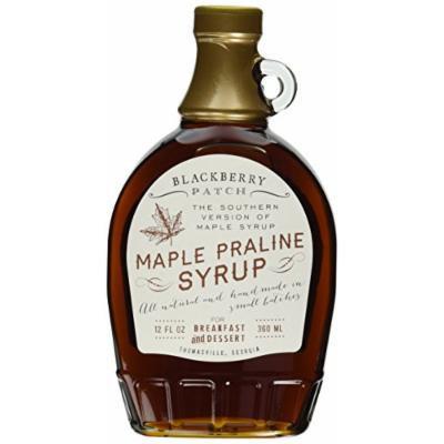 Maple Praline Syrup, Contains SUGAR, 12 oz Bottle