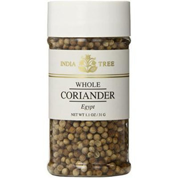 India Tree Coriander Seed Jar, 1.1-Ounce (Pack of 6)