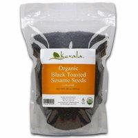 Kevala Organic Black Sesame Seeds 1 Lb (TOASTED)