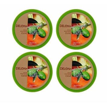 DELON Intense Moisturizing Olive Body Butter 6.8 Oz