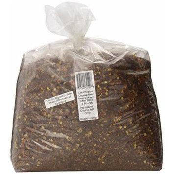 Los Chileros Organic New Mexico Hatch Chile, Flake, 5 Pound
