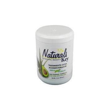 Dominican Hair Product Naturals Key Aloe Vera and Avocado Treatment Conditioner 8oz