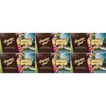 Hawaiian Host Chocolate Covered Macadamia Nuts 6 / 7oz Boxes