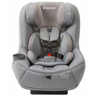 Maxi-Cosi Pria 70 Convertible Car Seat with Easy Clean Fabric and BONUS 20 Ounce Flavor Infusing Water Bottle, Grey Gravel