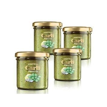 Carli Pesto Sauce. Four 130 Gram (4.6 oz.) jars.