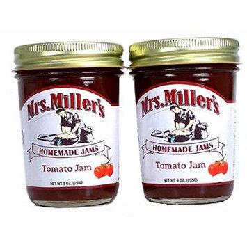 Mrs Millers Tomato Jam (Amish Made) ~ 2 / 9 Oz. Jars