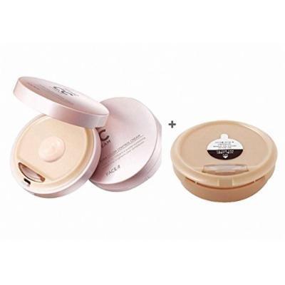 The Face Shop Face It Aura Color Control Cream 20g + Refill 20g (Set)/02 Natural Beige