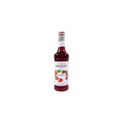 Monin Strawberry Syrup (1 Single 750 ml bottle)