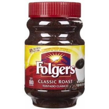 Folgers Instant Coffee Classic Roast, 12 oz