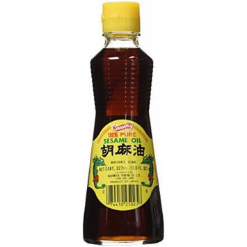 Shirakiku 100% Pure Sesame Oil 327ml. 11Oz. Bottle