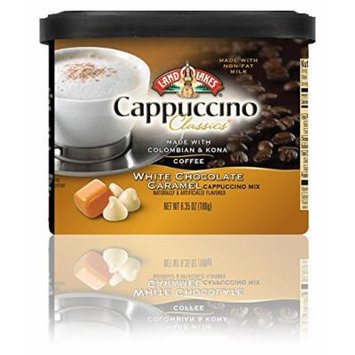 Land O'Lakes White Chocolate Caramel Cappuccino - 2 (TWO) 6.35oz Canisters
