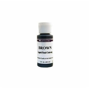 Lorann Oils Liquid Food Color, 1-Ounce, Brown