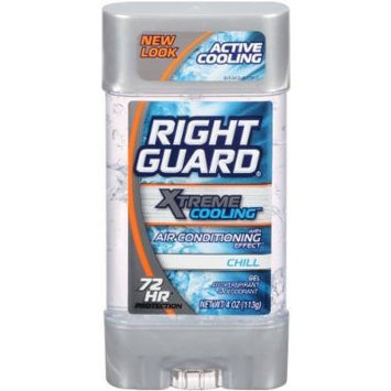 Right Guard Xtreme Cooling A/P Deodorant Chill Gel 4 oz. (Pack of 2)