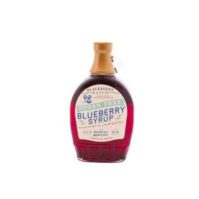 Whole Blueberry Sugar Free Syrup, 12 oz by Blackberry Patch