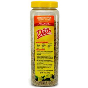 Mrs Dash Lemon Pepper Salt-Free Blend, 21 Ounce (1 Unit)