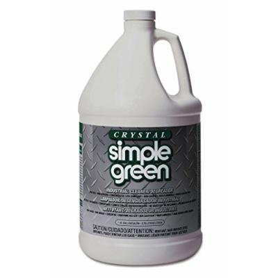 Simple Green 0610000619128 Crystal Industrial Cleaner and Degreaser in 1 gal Bottles (Pack of 6)
