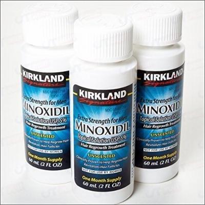 Kirkland Men Hair Loss Regrowth Revitalizes Hair Follicles 5% Minoxidil Topical Solution 3 Months Supply Size 3 X 2 Fl. Oz (60 Ml) Original By Siamproviding3