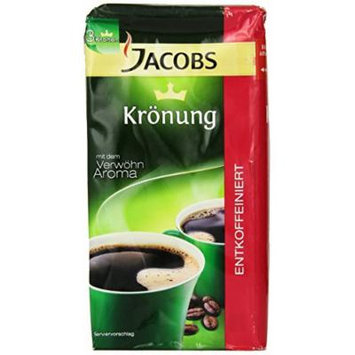 Jacob's Coffee Jacobs Kronung Free, 17.6-Ounce (Pack of 3)