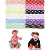 12 total juDanzy 1.5 inch crochet baby headbands